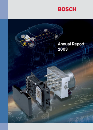 Robert Bosch annual report 2003
