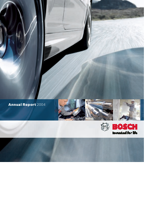 Robert Bosch annual report 2004