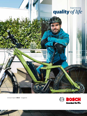 Robert Bosch annual report 2014