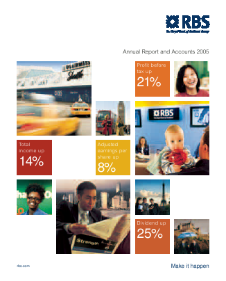 Royal Bank Of Scotland Group Plc annual report 2005