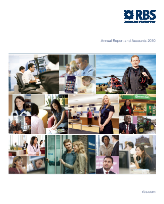 Royal Bank Of Scotland Group Plc annual report 2010