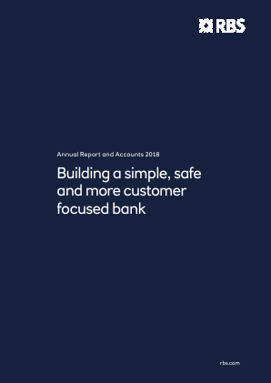 Royal Bank Of Scotland Group Plc annual report 2018