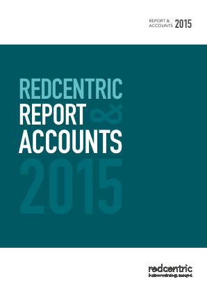 Redcentric Plc annual report 2015