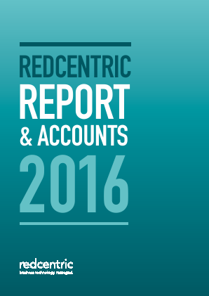Redcentric Plc annual report 2016