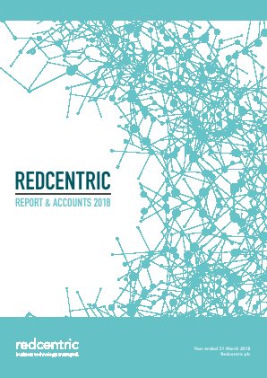 Redcentric Plc annual report 2018