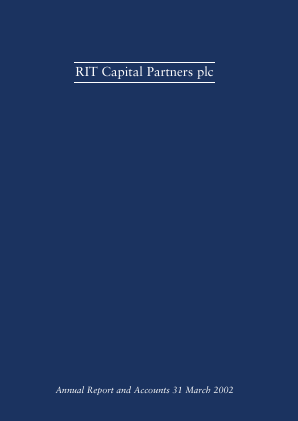 RIT Capital Partners annual report 2002