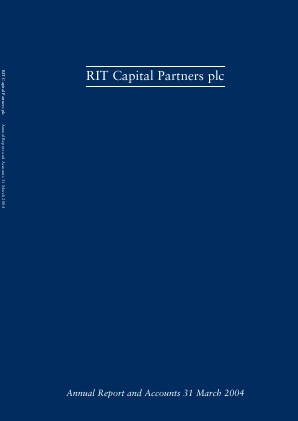 RIT Capital Partners annual report 2004