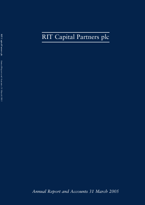 RIT Capital Partners annual report 2005