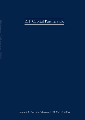 RIT Capital Partners annual report 2006