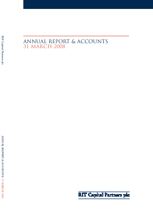 RIT Capital Partners annual report 2008