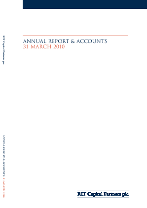 RIT Capital Partners annual report 2010