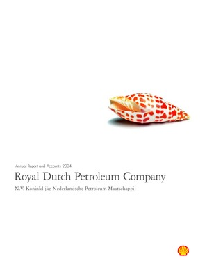 Royal Dutch Shell annual report 2004