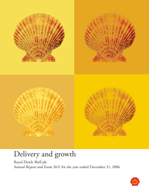 Royal Dutch Shell annual report 2006