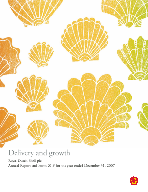Royal Dutch Shell annual report 2007
