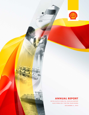 Royal Dutch Shell annual report 2010