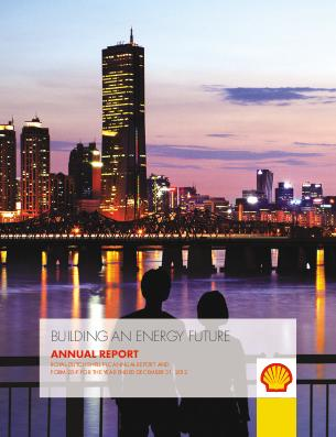 Royal Dutch Shell annual report 2012
