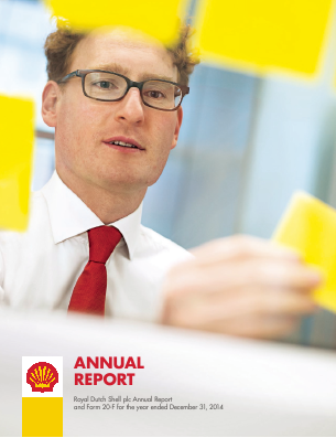 Royal Dutch Shell annual report 2014