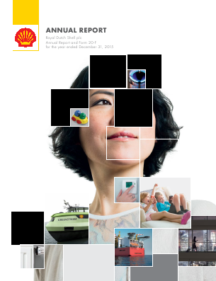 Royal Dutch Shell annual report 2015