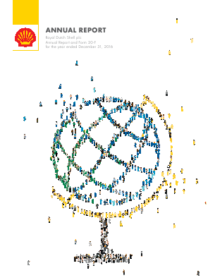 Royal Dutch Shell annual report 2016