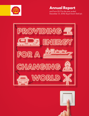 Royal Dutch Shell annual report 2018