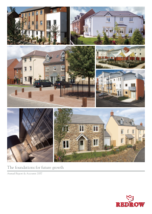 Redrow annual report 2007
