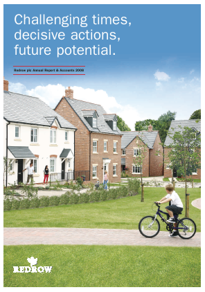 Redrow annual report 2008