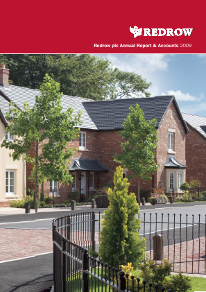 Redrow annual report 2009