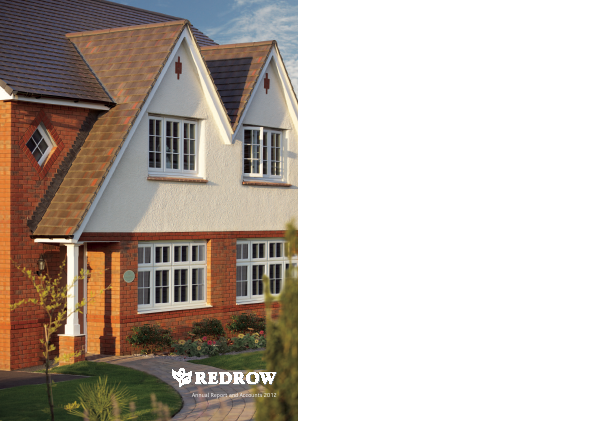Redrow annual report 2012