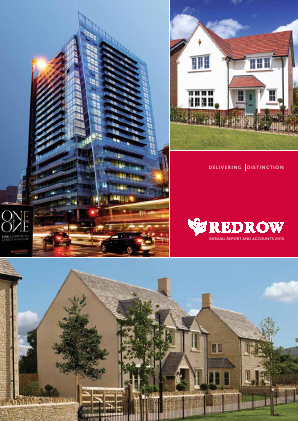 Redrow annual report 2013