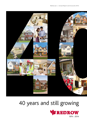 Redrow annual report 2014