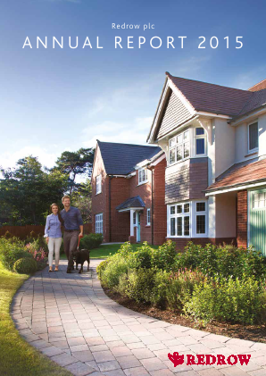 Redrow annual report 2015