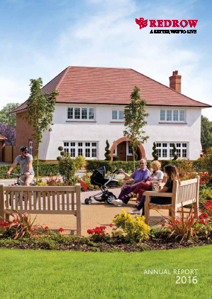 Redrow annual report 2016