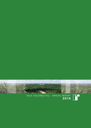 REA Holdings Plc annual report 2010
