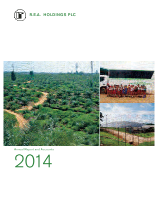 REA Holdings Plc annual report 2014