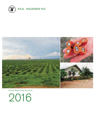 REA Holdings Plc annual report 2016