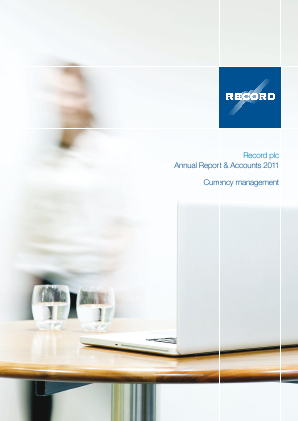 Record Plc annual report 2011