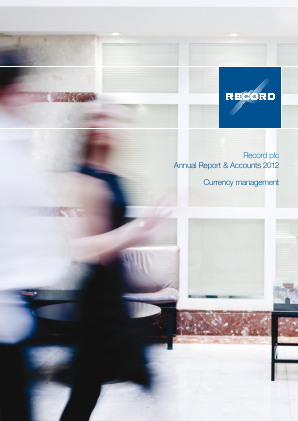 Record Plc annual report 2012