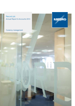 Record Plc annual report 2013