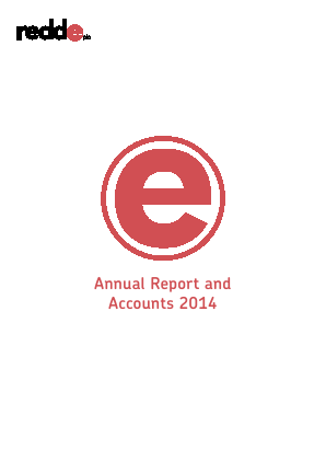 Redde Plc annual report 2014