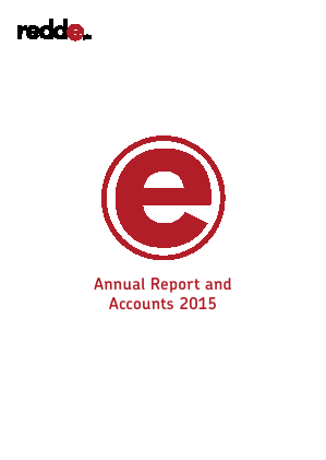 Redde Plc annual report 2015