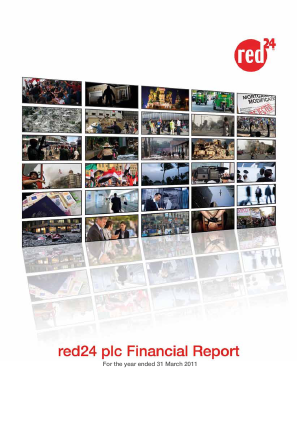 Red24 Plc annual report 2011