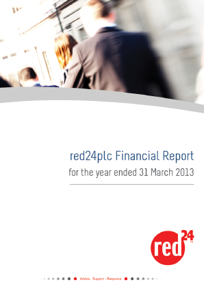 Red24 Plc annual report 2013