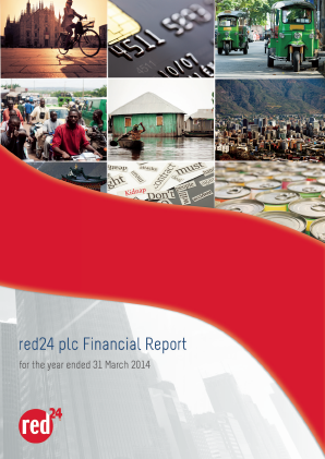 Red24 Plc annual report 2014