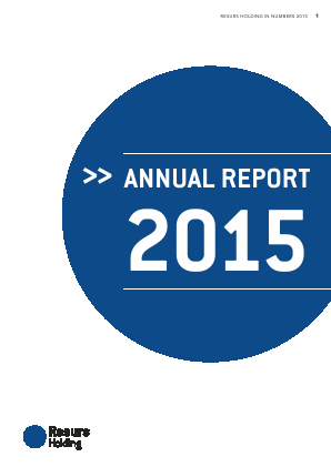 Resurs Holding annual report 2015