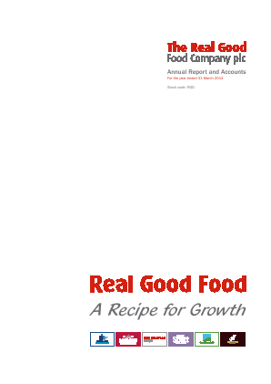 Real Good Food Plc annual report 2014