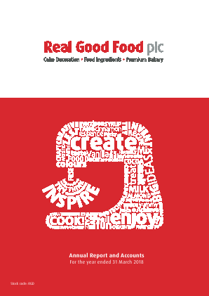 Real Good Food Plc annual report 2018
