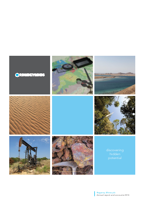 Regency Mines annual report 2014