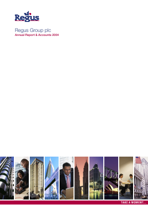 International Workplace Group - IWG (previously Regus Plc) annual report 2004