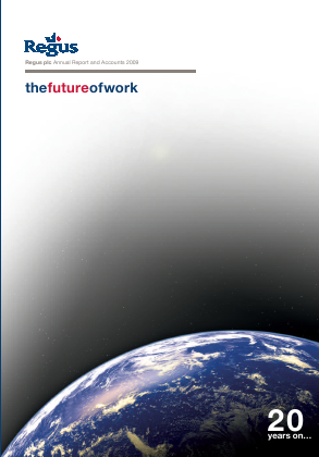 International Workplace Group - IWG (previously Regus Plc) annual report 2009