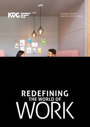 International Workplace Group - IWG (previously Regus Plc) annual report 2018
